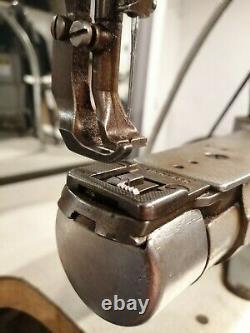 Singer industrial sewing machine cylinder arm 169 A72 Walking Foot heavy duty-k6