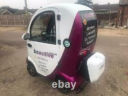 Spring Sale Scooterpac Cabin Car Mk2 Plus Heater Camera Mobility Scooter