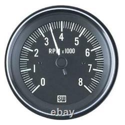 Stewart Warner 82171 Heavy Duty Tachometer, Electric, 3-3/8 Inch