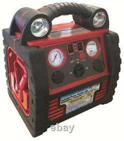 Streetwize 6 in1 Heavy Duty 12v Portable Jump Starter Power Pack Air Compressor