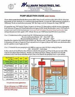 Submersible Pump, Deep Well, 4, 3HP, 230V, 625 ft Head, Heavy Duty
