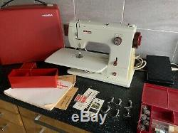 Swiss Bernina 807 Free Arm Multi Stitch Zigzag Heavy Duty Metal Sewing Machine