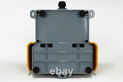 TEMCo Double Extra Heavy Duty Foot Switch W Guard Electric NONC Duel Pedal Twin
