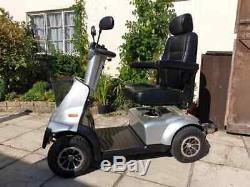 TGA Breeze Midi 4 8mph Mid-Size Mobility Scooter