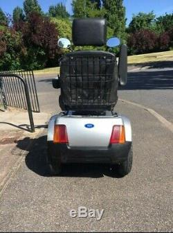TGA Breeze S 4 wheeled Heavy Duty 8 MPH Silver Mobility Scooter
