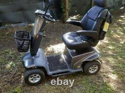 TGA IBEX ALL TERRAIN 8MPH Electric Mobility Scooter EXCELLENT CONDITION WITH BAG