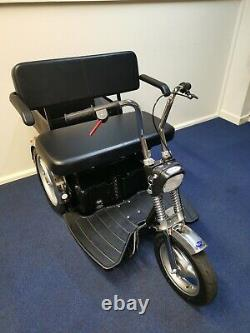 TGA Supersport All Terrain 8MPH Mobility Scooter 1 Year Warranty Motorbike Style
