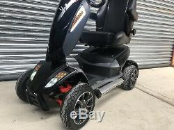 TGA Vita S 8-MPH Luxury Large Size All-Terrain Mobility Scooter inc Warranty