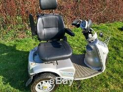 Tga Breeze S3, 8mph All Terrain Footpath & Road Legal Mobility Scooter