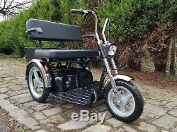 Tga Supersport Twin Seat Mobility Scooter. Tandem Mobility Scooter. All Terrain