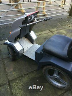 Tramper mobility scooter. Beamer off road capable, heavy duty scooter