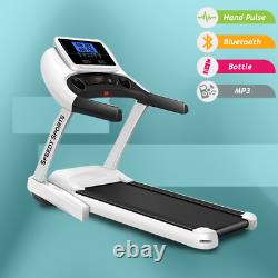 Treadmill Compact Folding Exercise Running Machine 2.0 HP Motorized Heavy Duty
