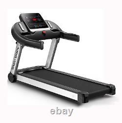 Treadmill Folding Home Gym Heavy Duty Machine 1.5 HP DC motor with Grass Belt