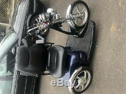 Trike mobility scooter