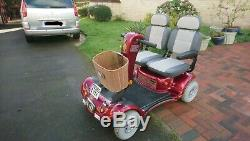 Two seater Twin seat Double seat Shoprider Mobility scooter RARE