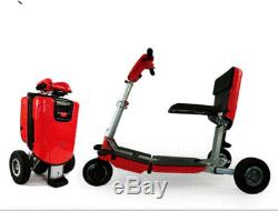 USED Ex Demo Model FR2 IPHONE RED 3 Wheel folding Mobility Scooter minor marks