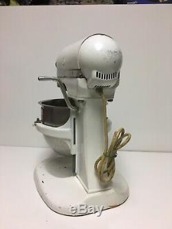 Vintage Hobart/Kitchenaid Mixer Model K5-A Heavy Duty Lift Stand Color White