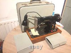 Vintage Singer 215G Heavy Duty Semi Industrial Leather Sewing Machine