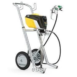 Wagner Airless Paint Sprayer Cart Pressure Relief Valve Heavy Duty Electric