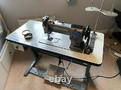 Walking foot sewing, Seiko, heavy duty, leather, industrial, table, foot pedal