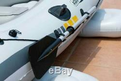 Wido AQUA MARINA INFLATABLE HEAVY DUTY RIB BOAT DINGHY TENDER ELECTRIC MOTOR