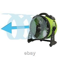 XPOWER FC-200 Portable 13 inch Heavy Duty Whole Room Vortex Air Circulator Fan