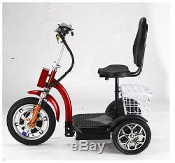 Zippy F6 3 Wheel Mobility Scooter 40 miles Range Very Fast Robust strong 800Wh